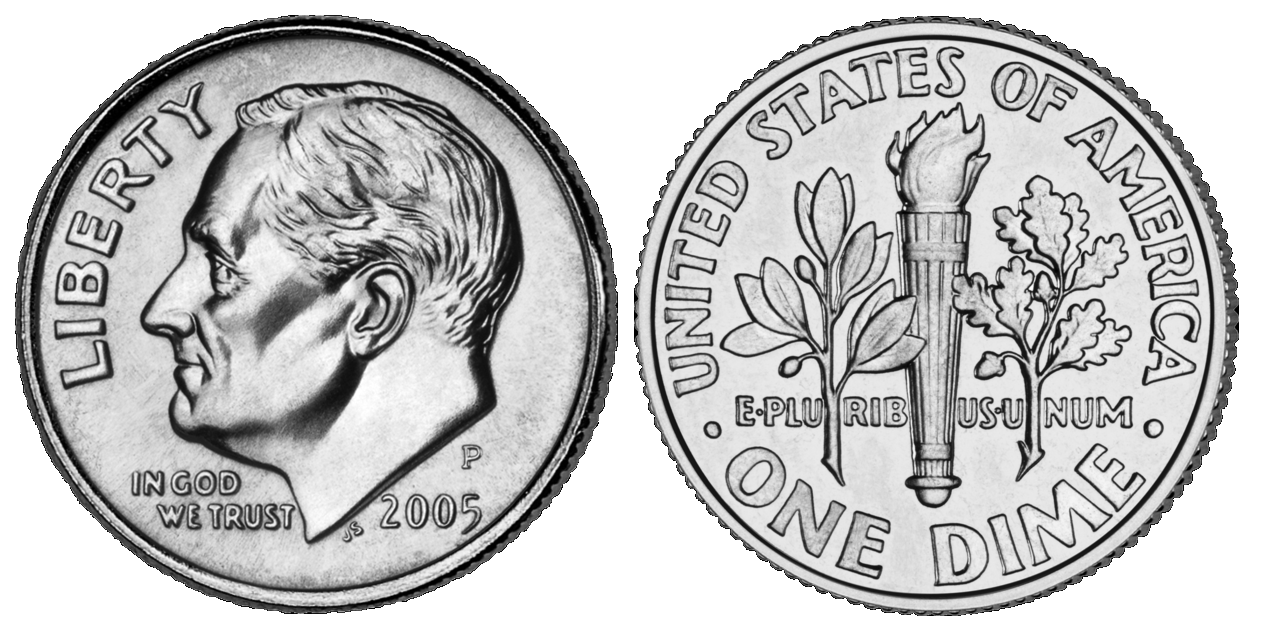 file roosevelt dime 2005 combined png wikimedia commons canadian dime clipart dime clip art png