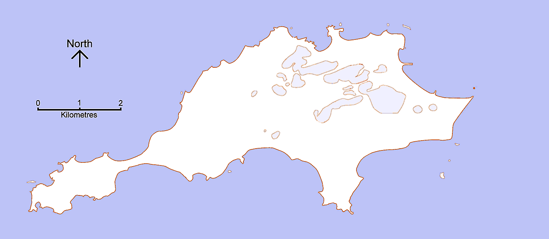 Map Rottnest Island Perth