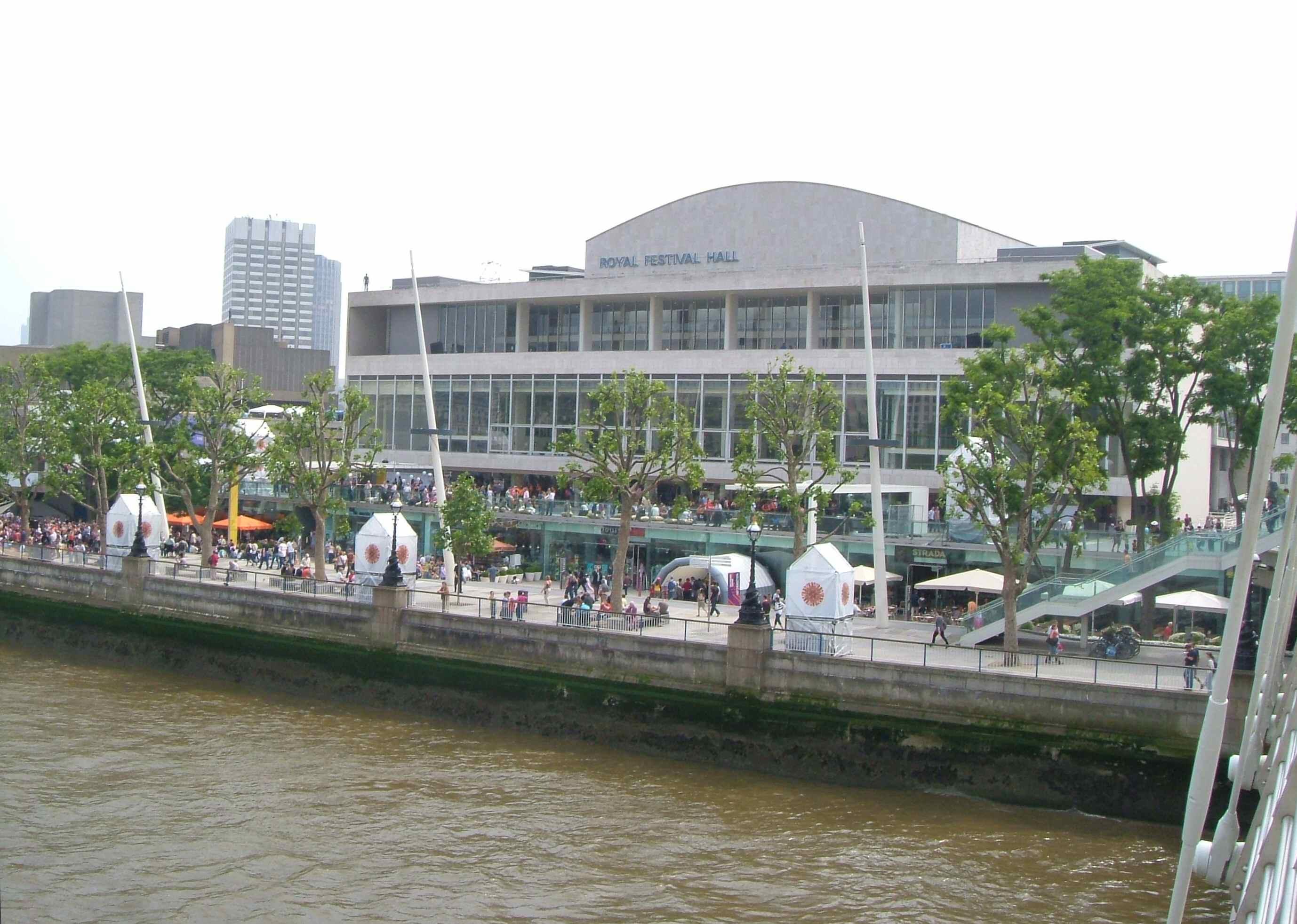 Depiction of Royal Festival Hall