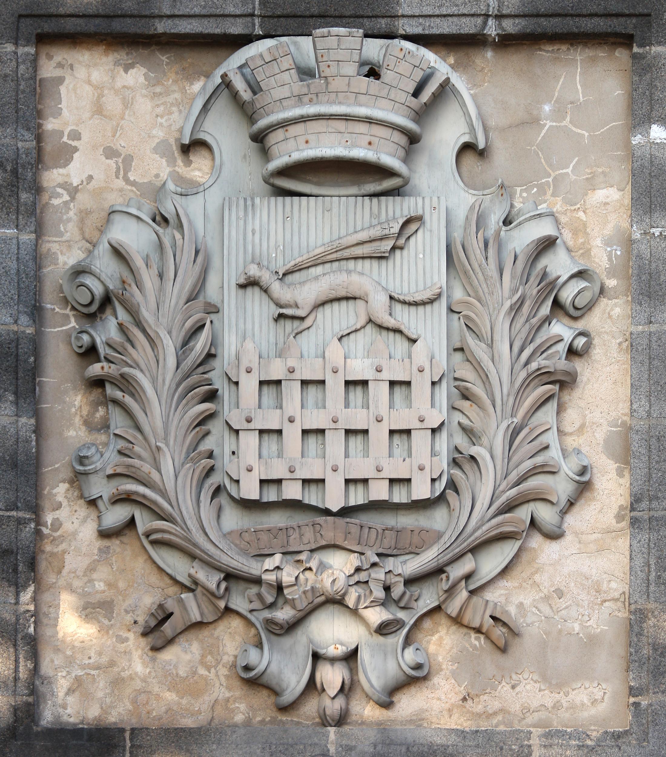 Fichier saint malo armes de la ville jpg wikip dia for B b saint malo