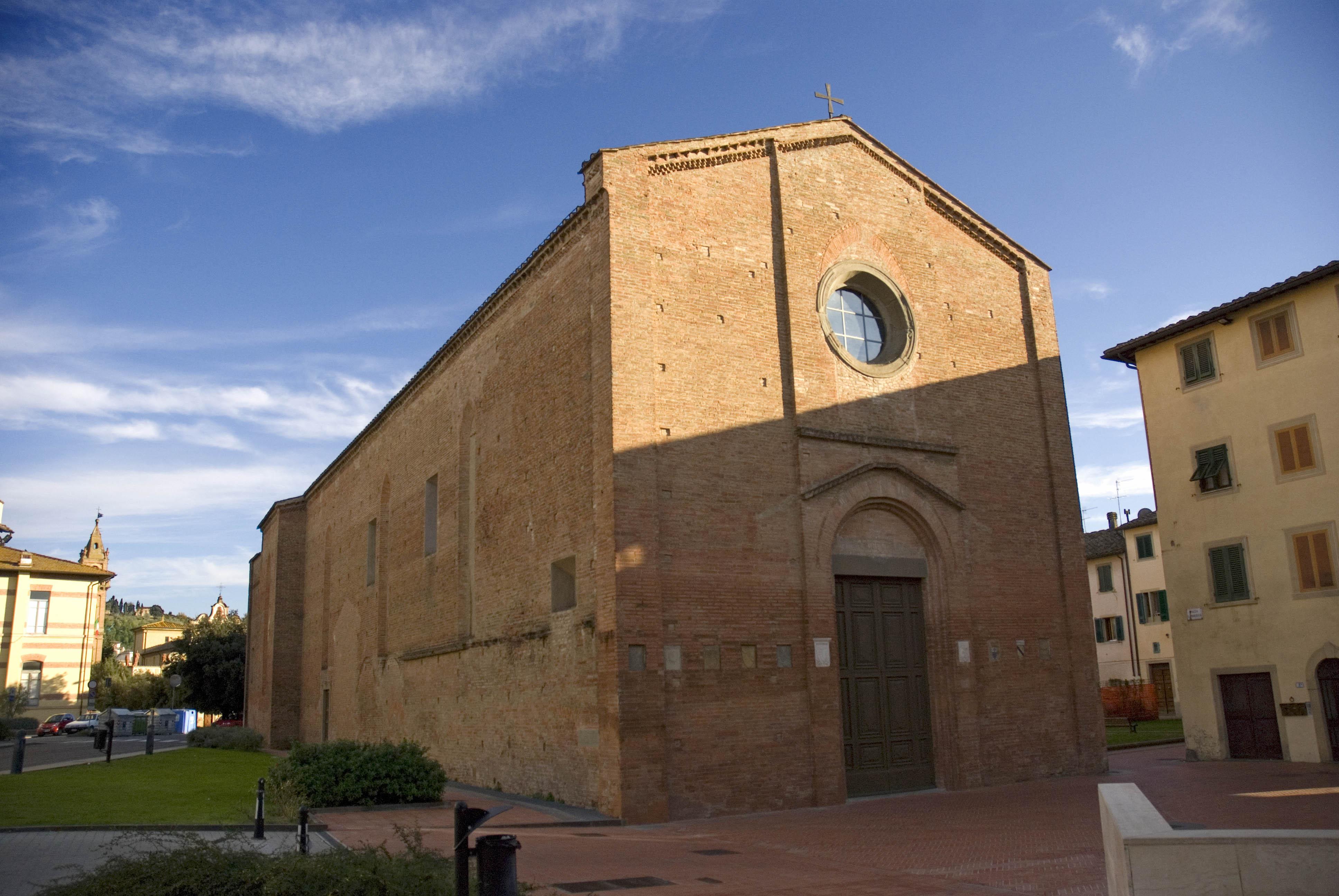 Chiesa Di San Francesco Castelfiorentino Wikipedia