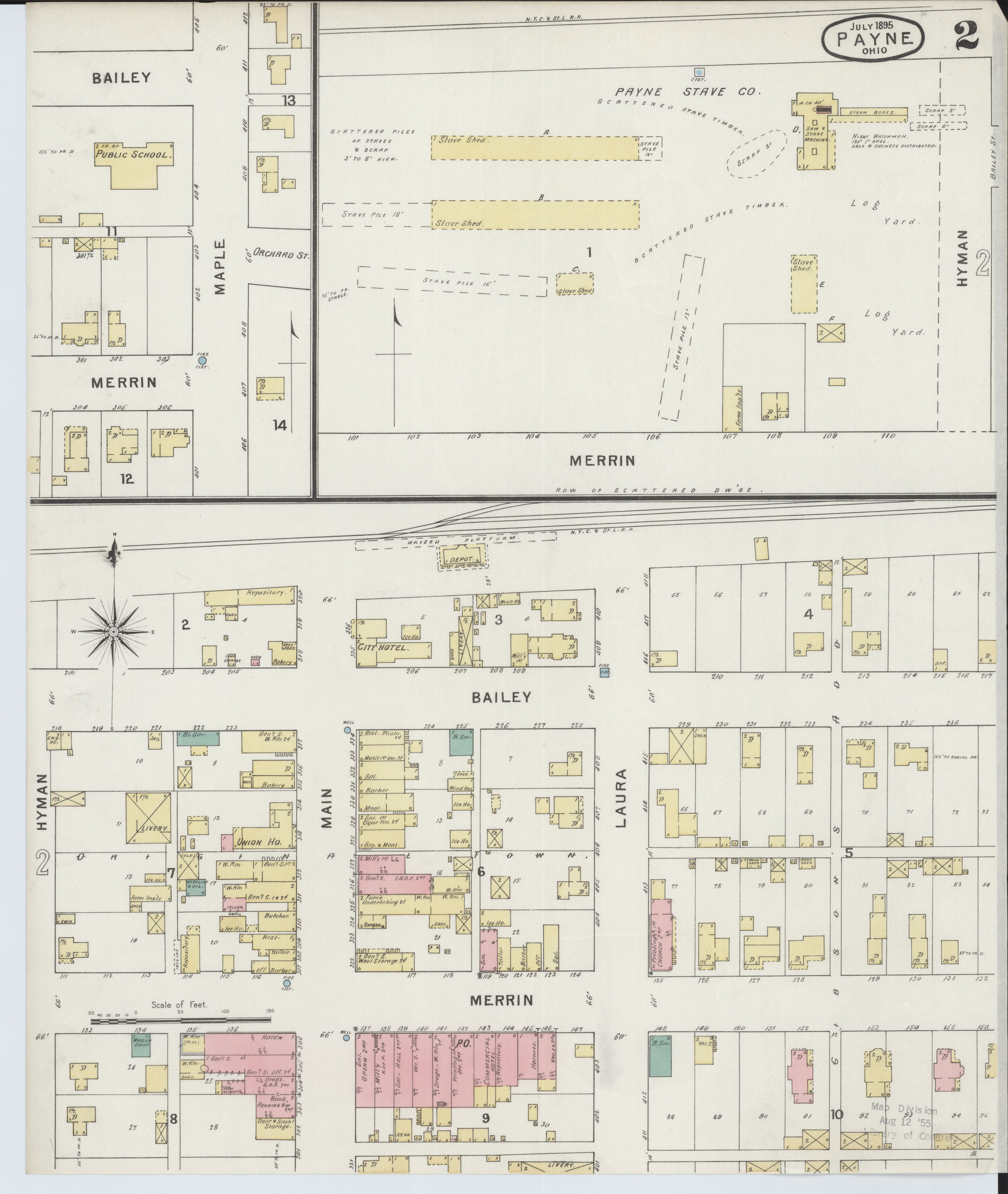 File Sanborn Fire Insurance Map From Payne Paulding County Ohio