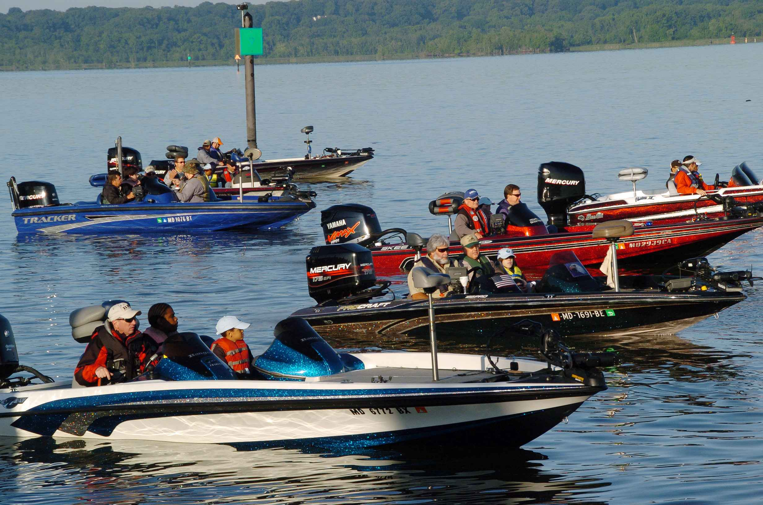 Yamaha Bass Boat Props
