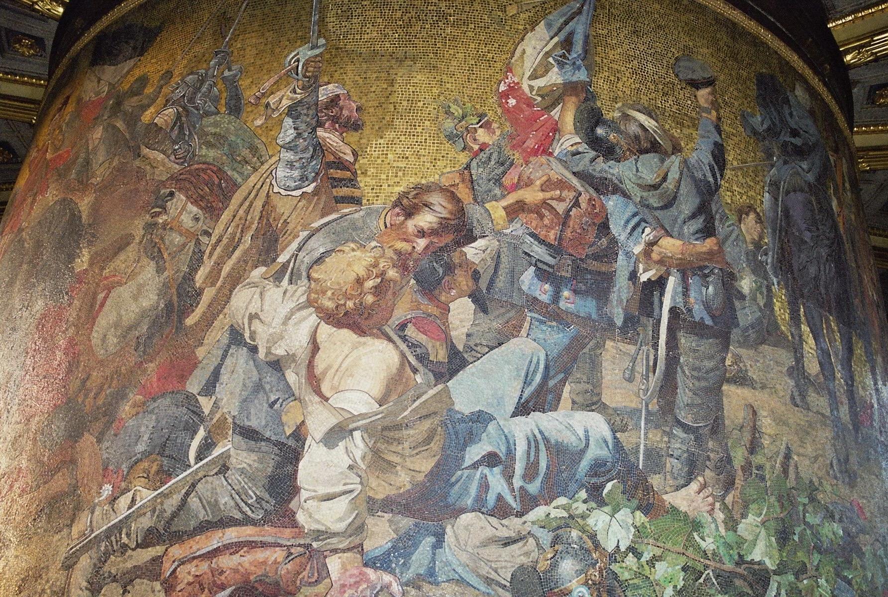 Mosaik Berlin file siegessaeule berlin december 2004 mosaic 06 jpg wikimedia