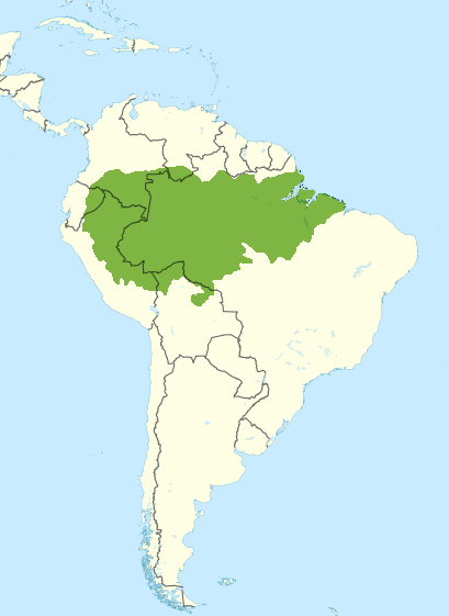 Amazon River In South America Map.File South America Wikivoyage Locator Maps Amazon Rainforest