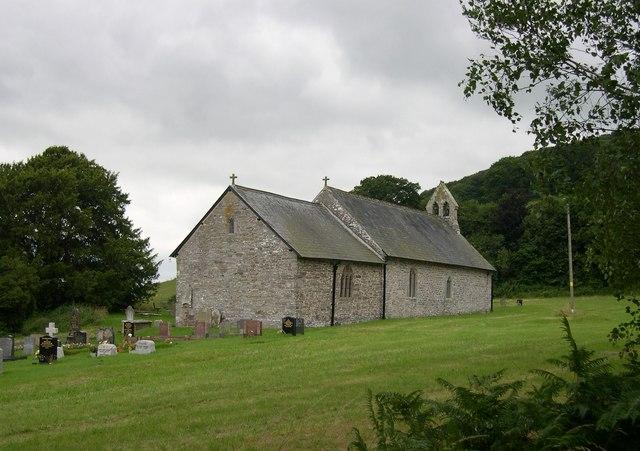 St Peter, Llanbedr Painscastle - geograph.org.uk - 911916.jpg