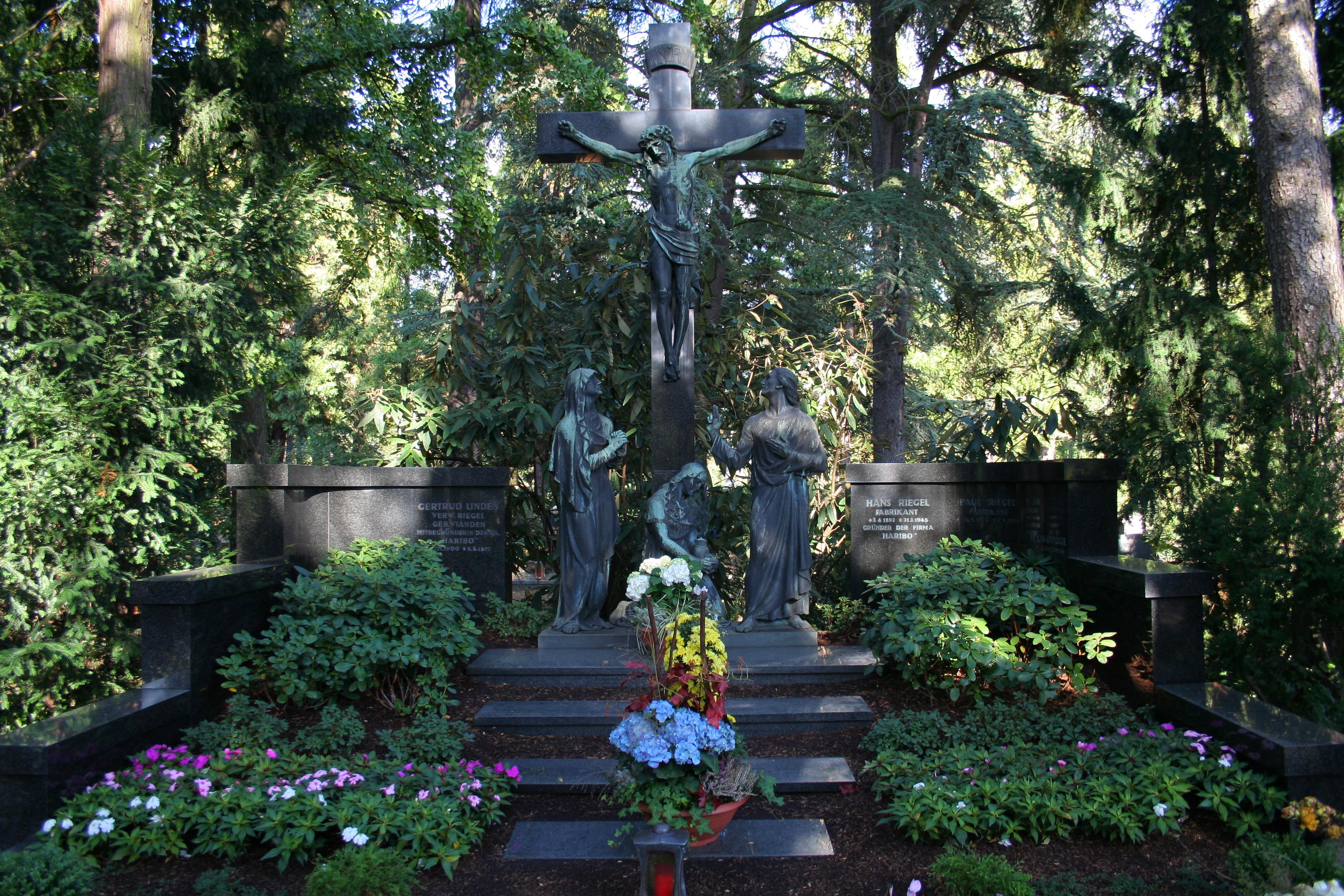 Grab von Hans Riegel