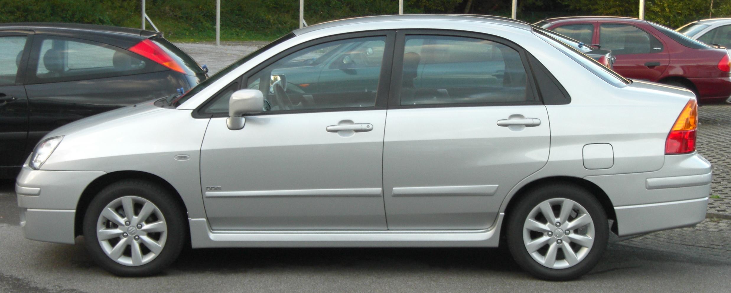 2003 suzuki liana 1 6 sedan related infomation specifications weili automotive network. Black Bedroom Furniture Sets. Home Design Ideas