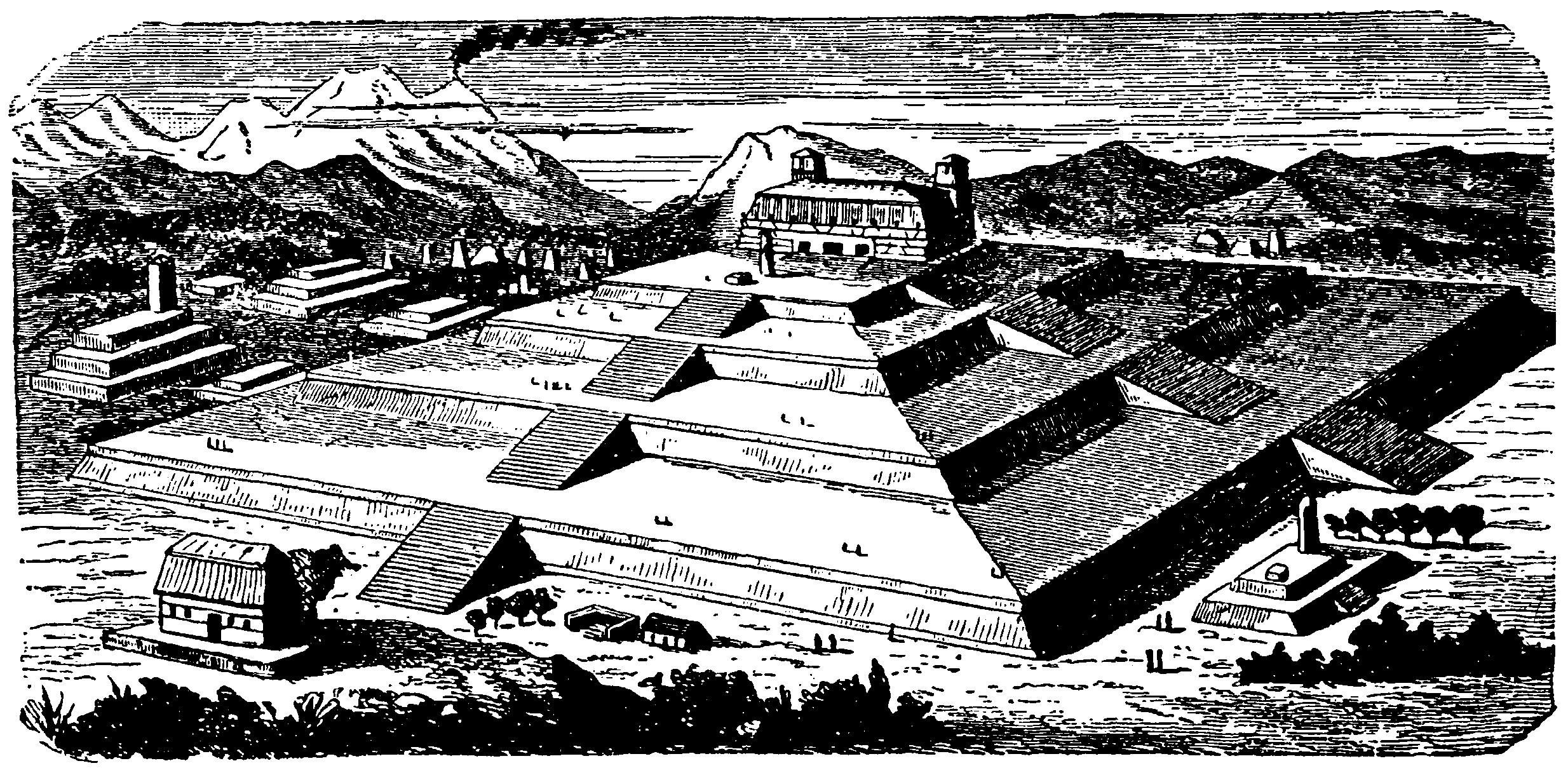 Cholula y Tenochtitlan Aztecas
