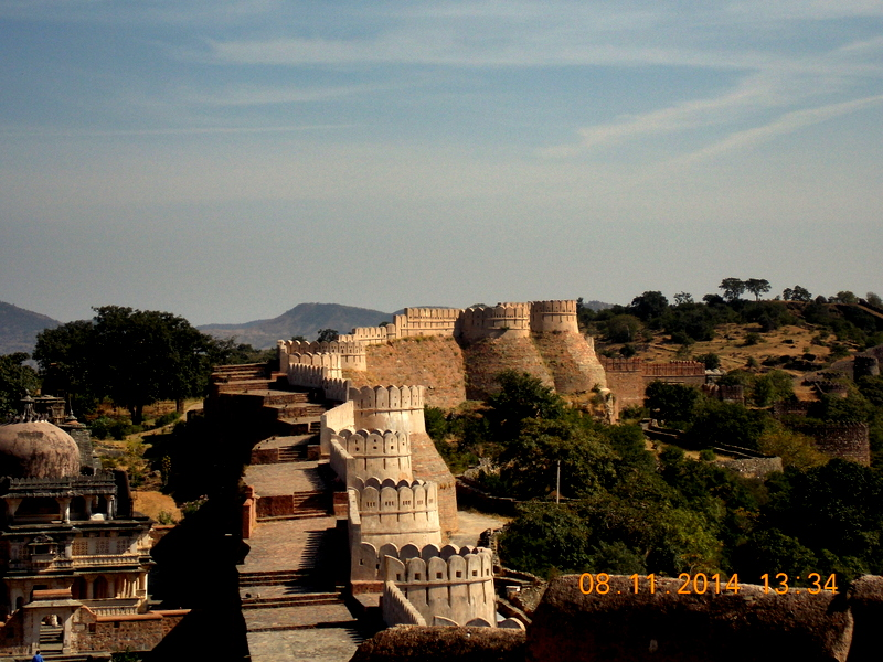 The Kumbhalgarh Fort Wall