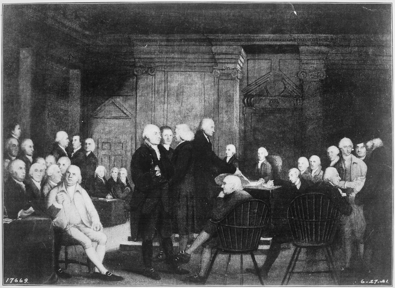 Il Congresso vota l'indipendenza (4 luglio 1776)