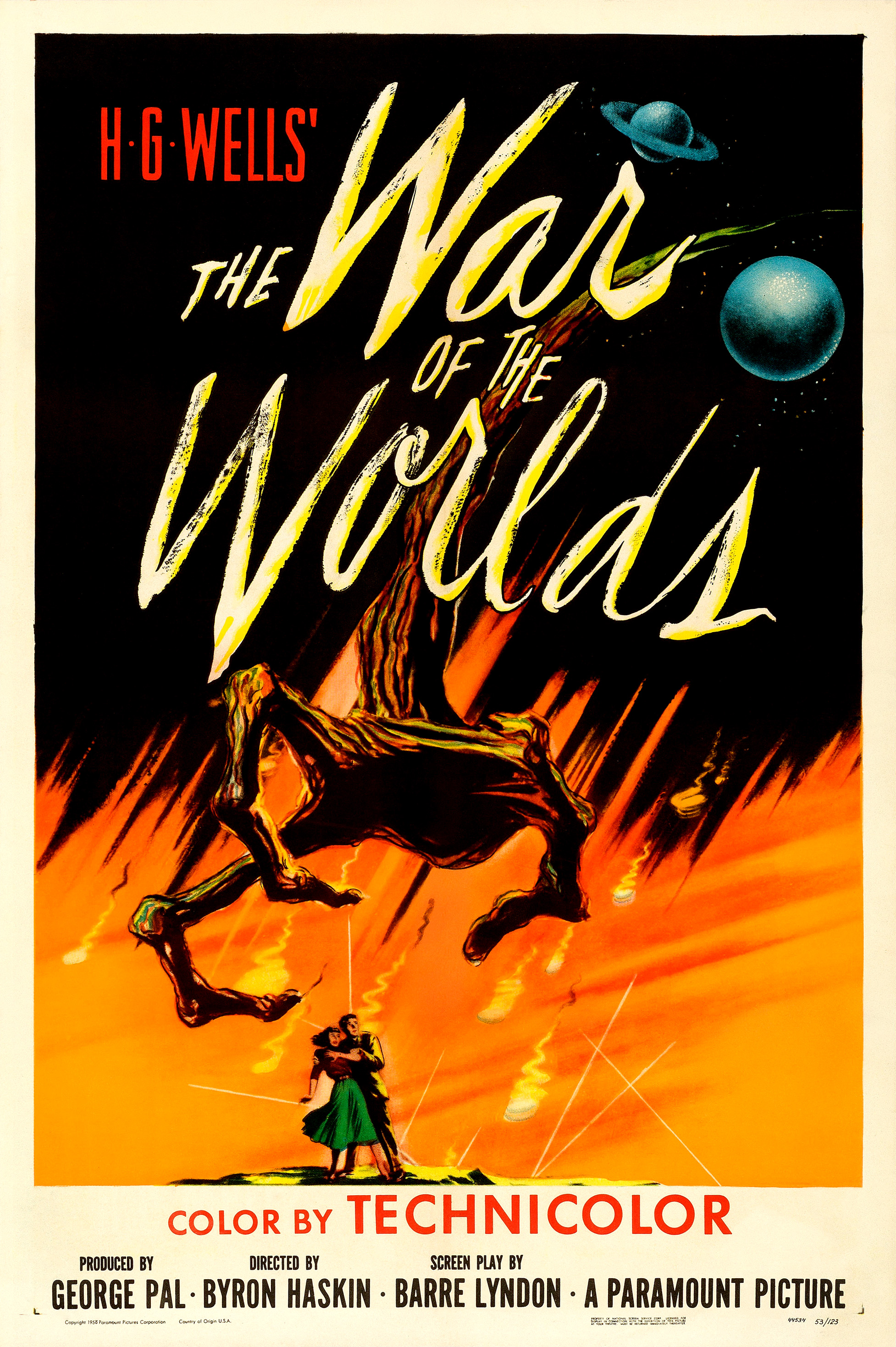 The War of the Worlds (1953 film) - Wikipedia