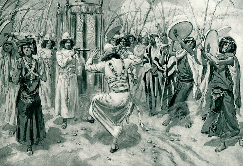 Tissot David Danced Before the Lord with All His Might