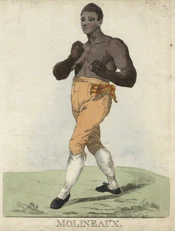 Tom Molineaux ('Molineaux') by and published by Robert Dighton.jpg