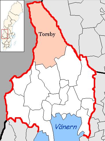 Bild:Torsby Municipality in Värmland County.png