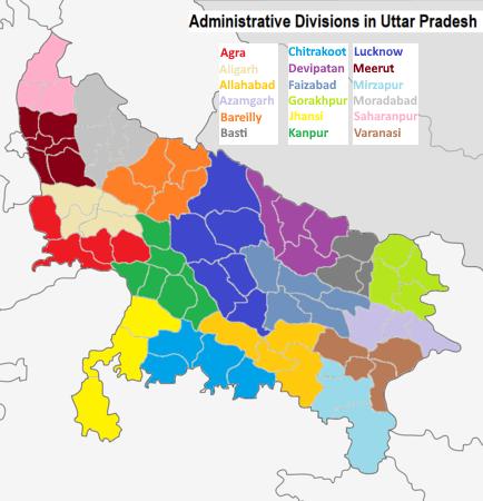 Divisions in Uttar Pradesh