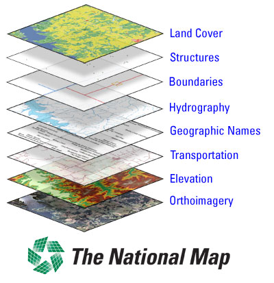Usgs National Map The National Map   Wikipedia
