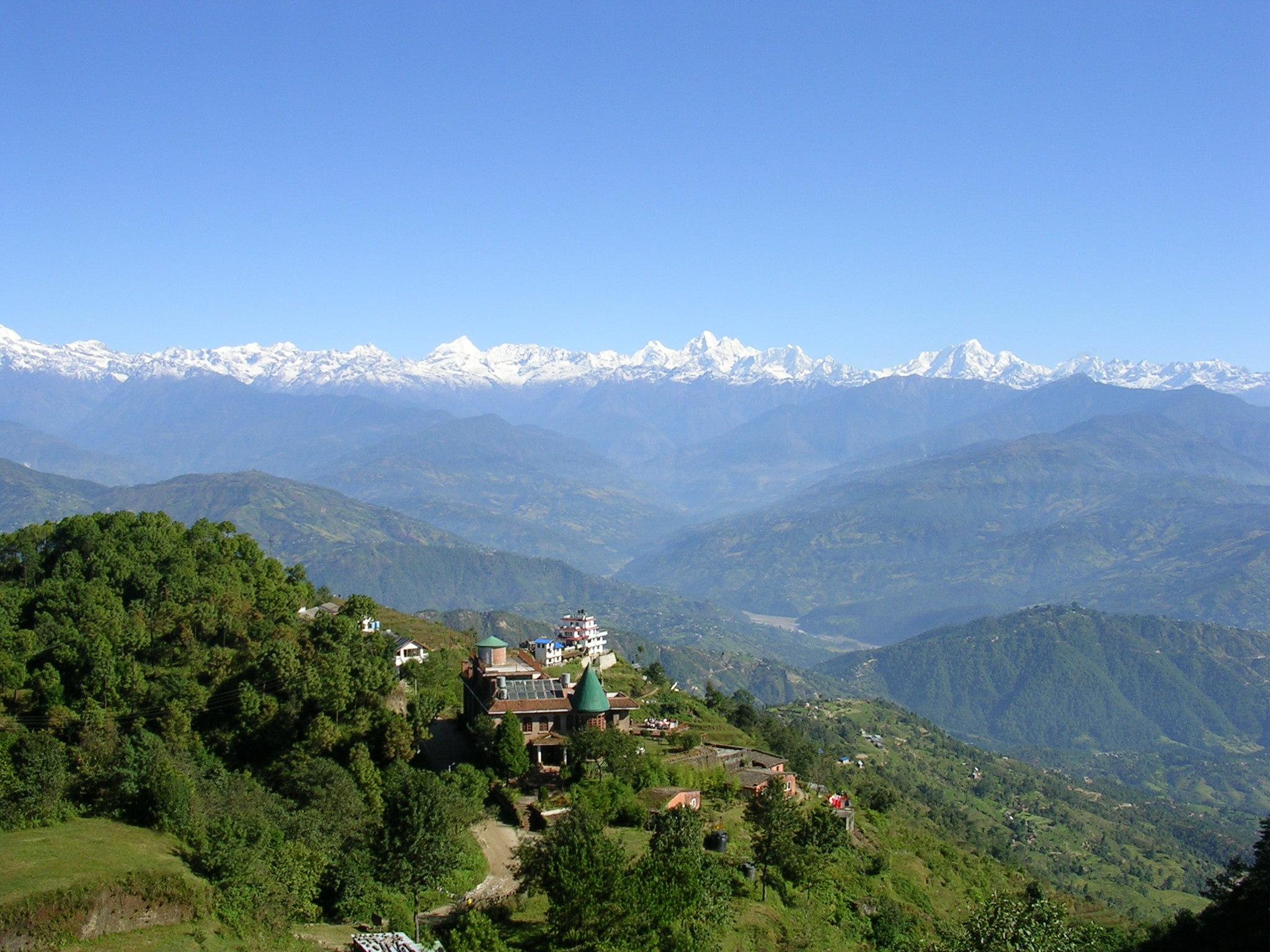 Vue depuis Nagarkot