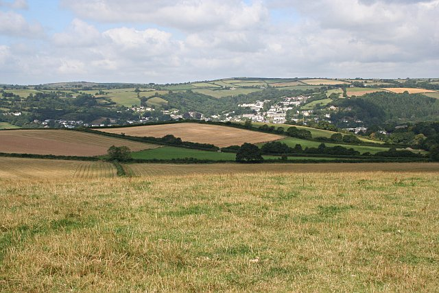 View over Lostwithiel - geograph.org.uk - 217797