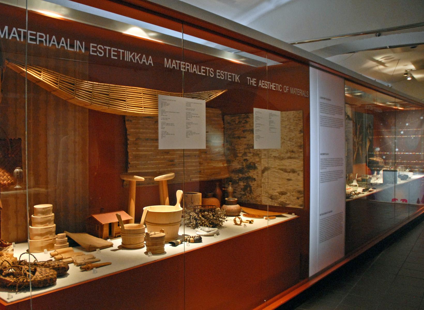 Design Vitrine file vitrine sur lesthétique des matériaux musée du design