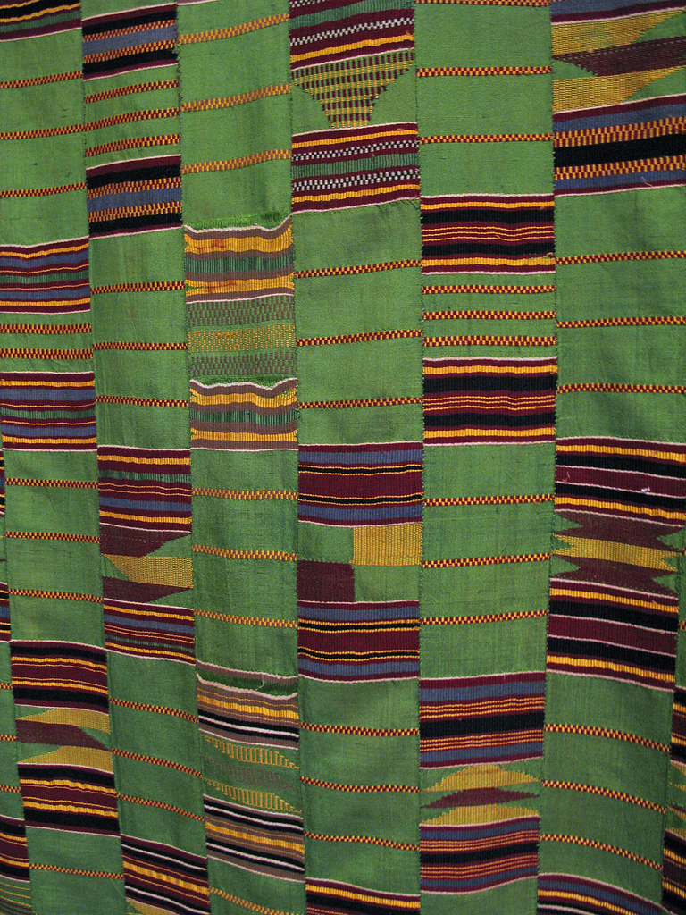 Kente Cloth, Probably Ewe, Ghana, c. 1986