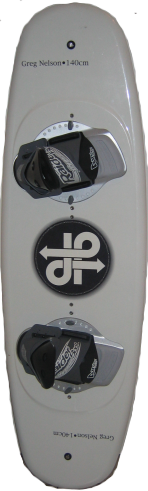 A twin tips wakeboard