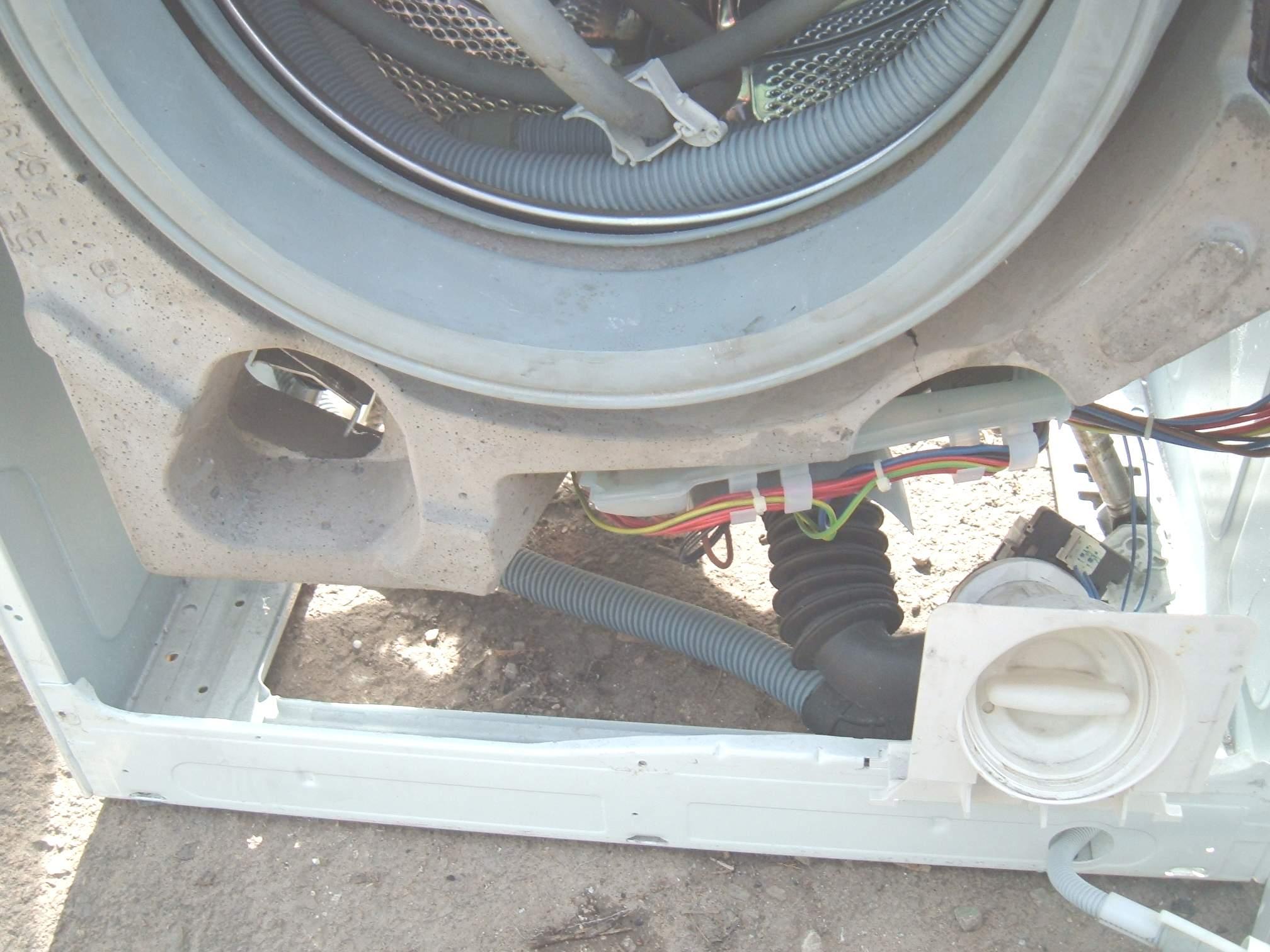 concrete washing machine