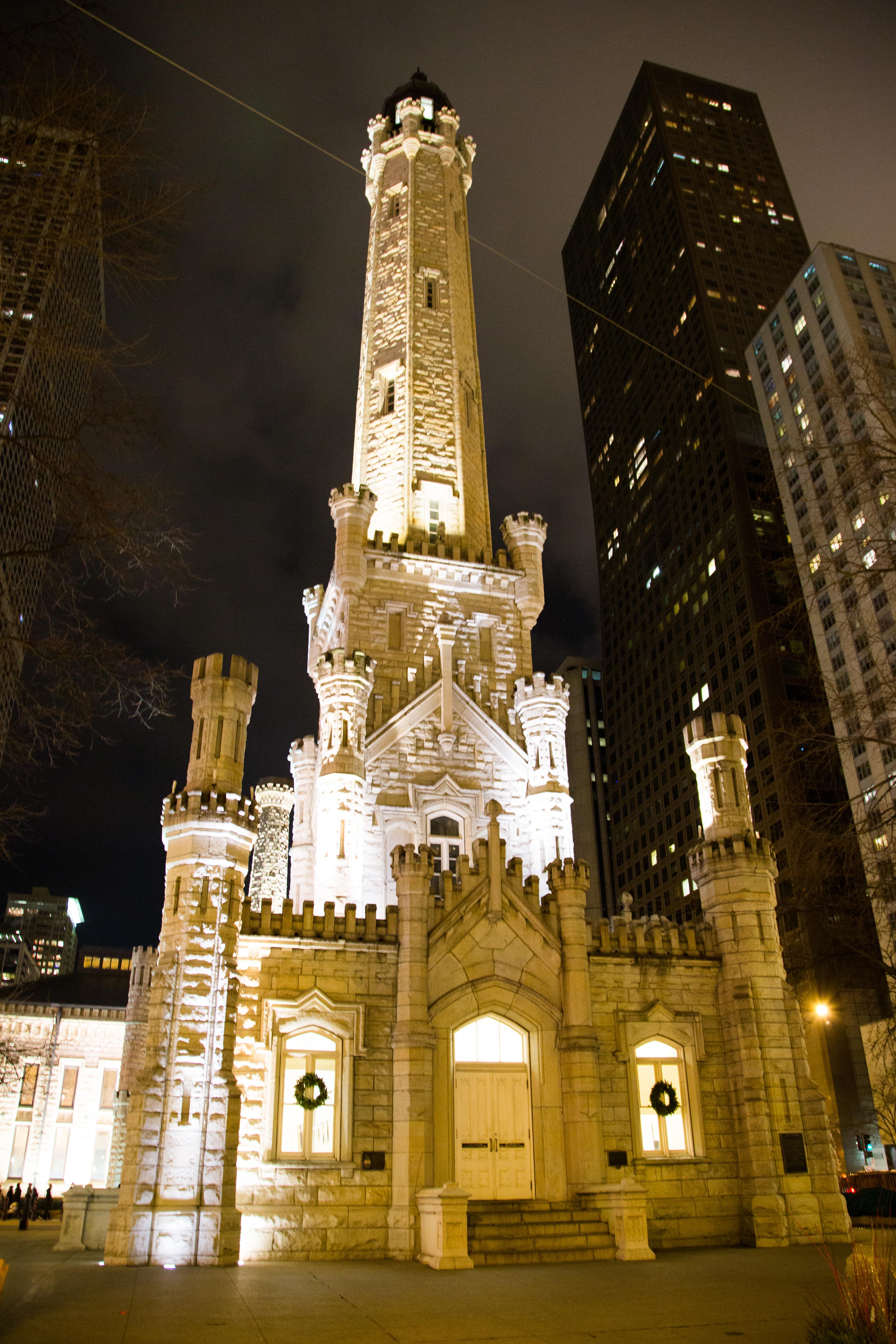 Château d'eau historique de Chicago
