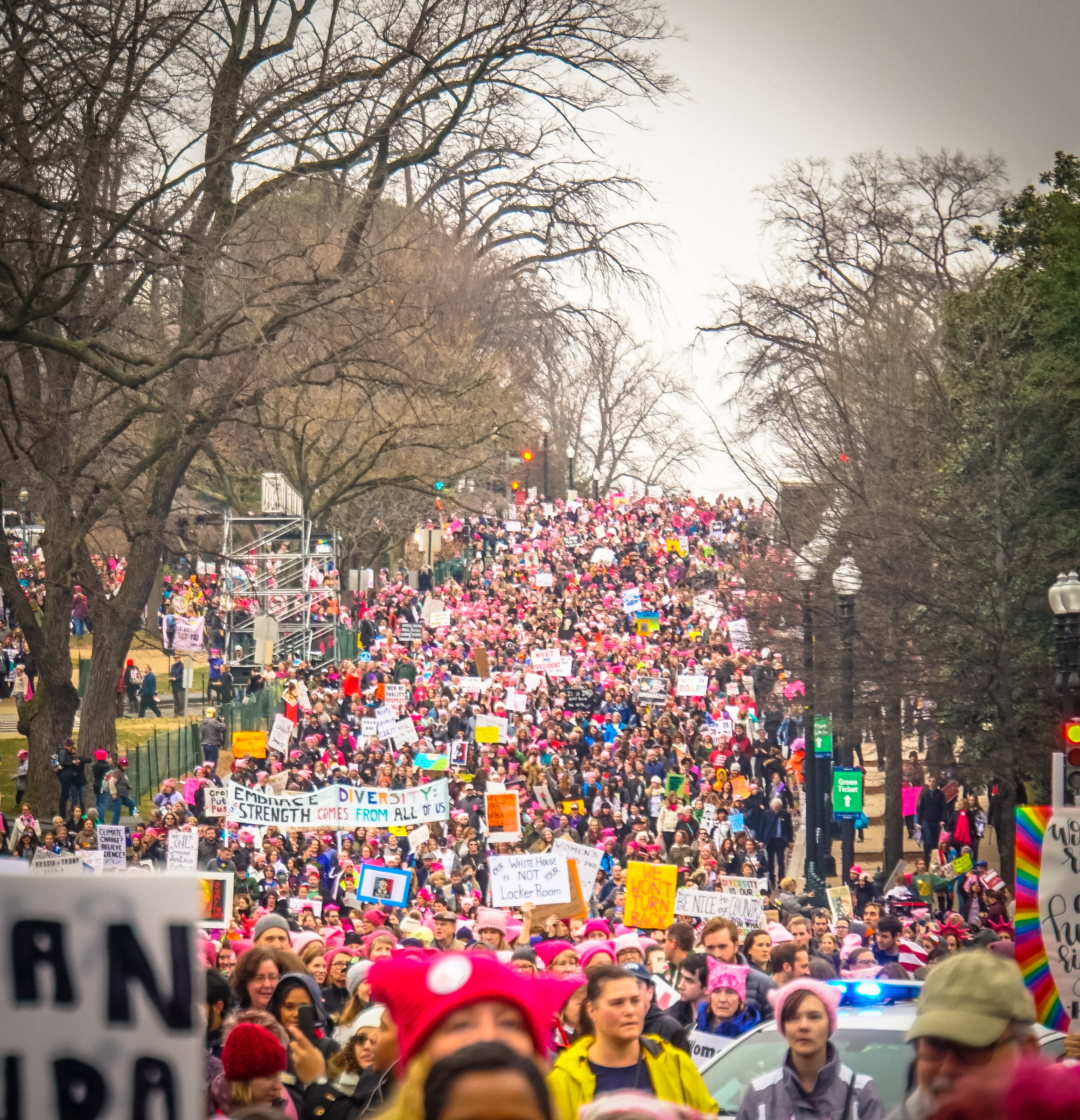 Conservatives Sell Their Souls to Trump Over Media-Bashing Women's_March_Washington,_DC_USA_33