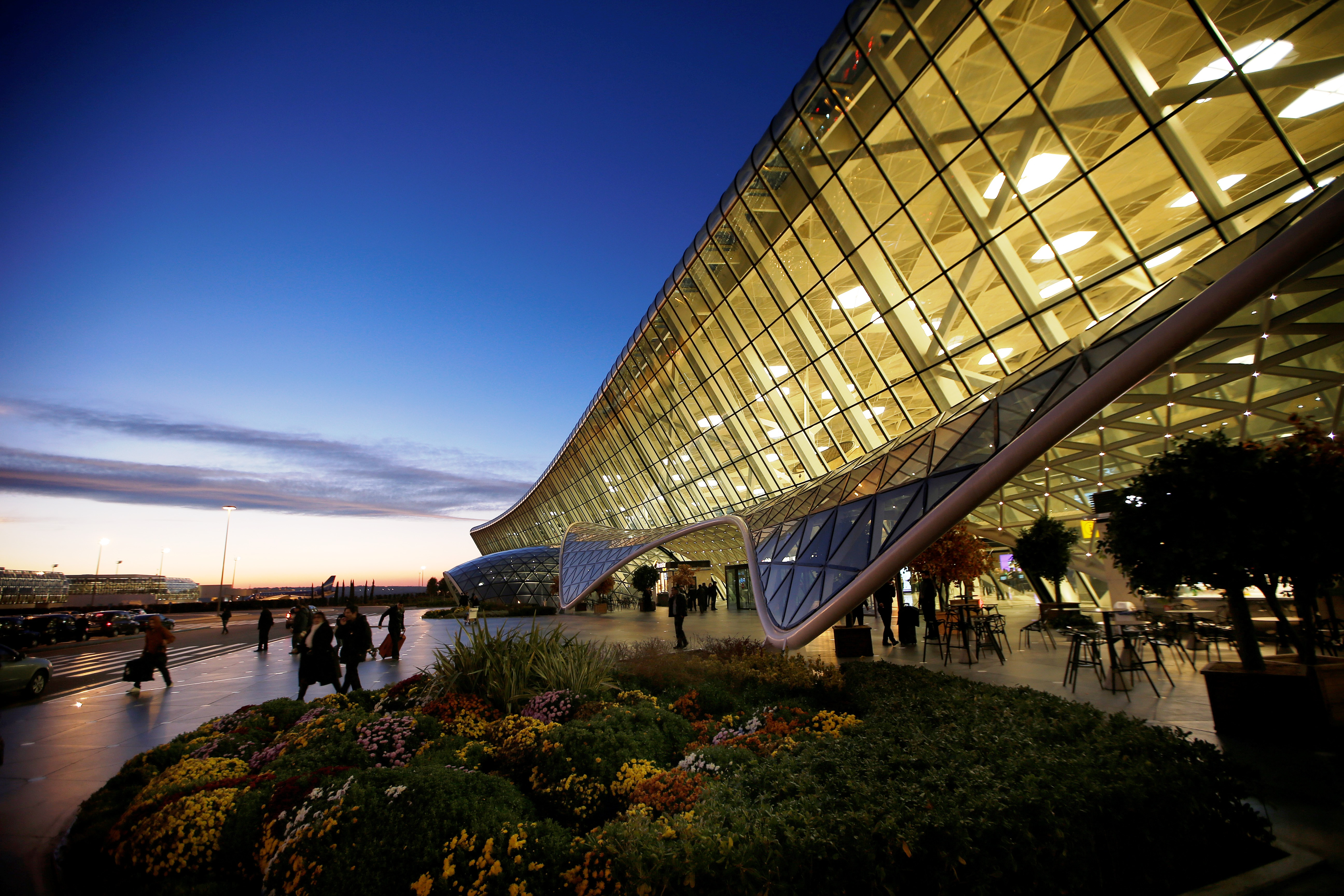 Heydar aliyev international airport for International azerbaijan decor expo