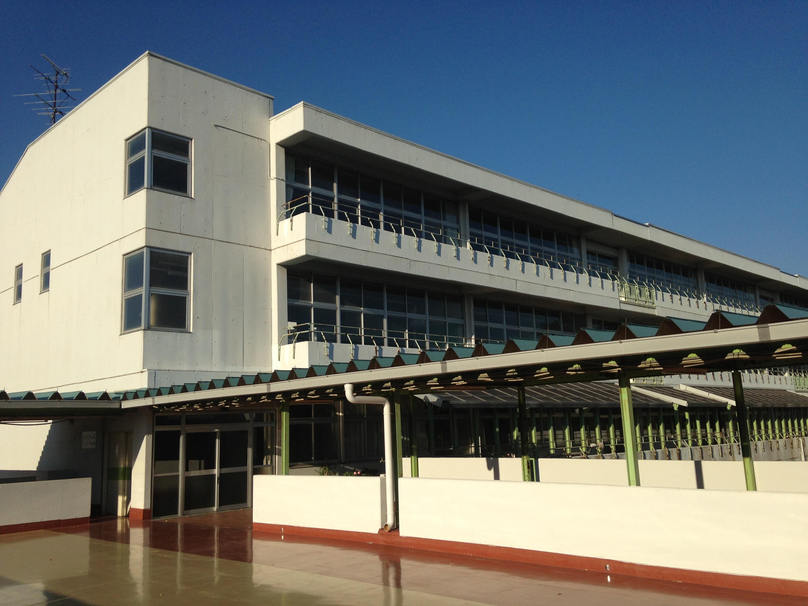 東 中学校 竹園