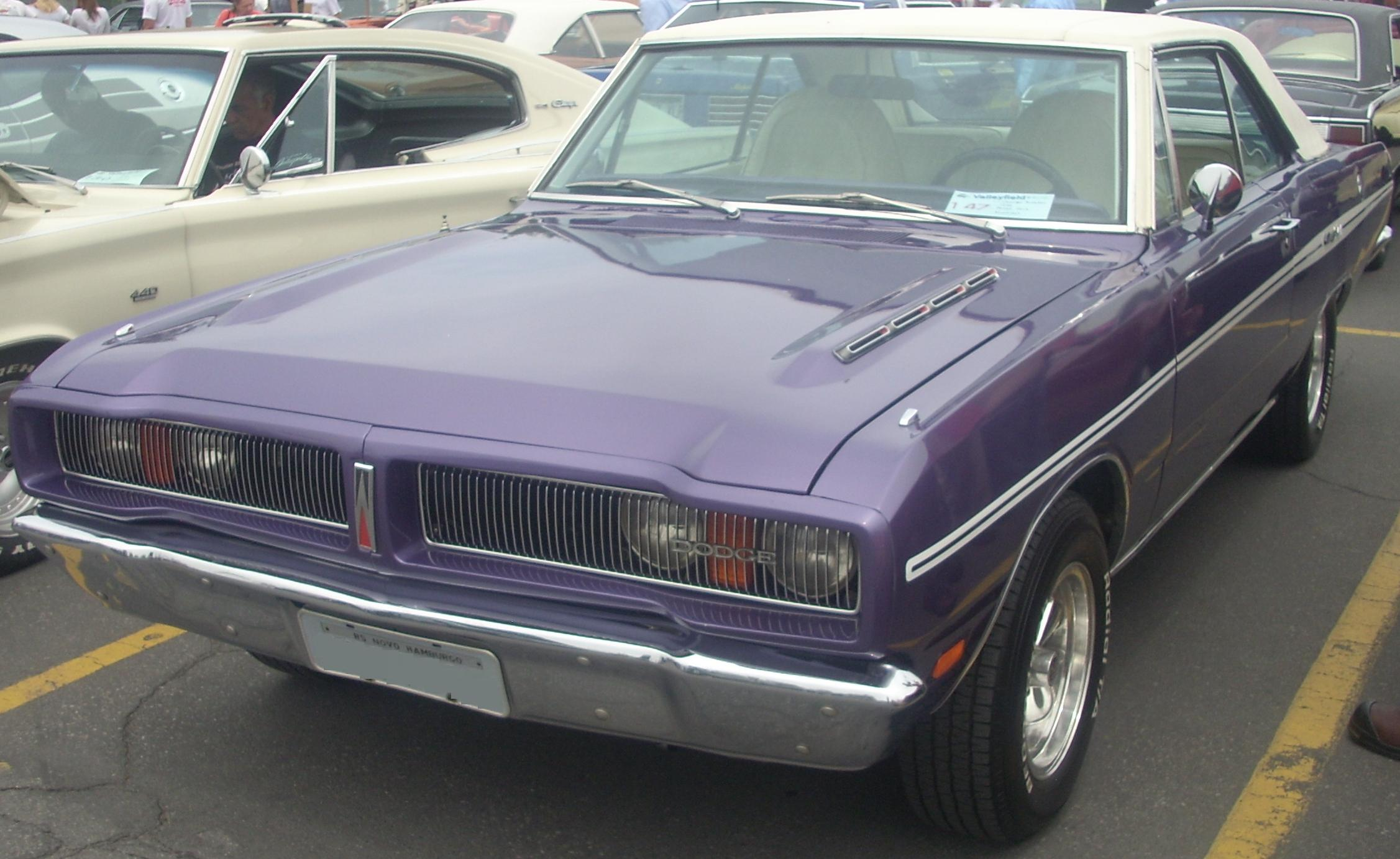 Description '76 Dodge Charger (Rassemblement Mopar Valleyfield '10