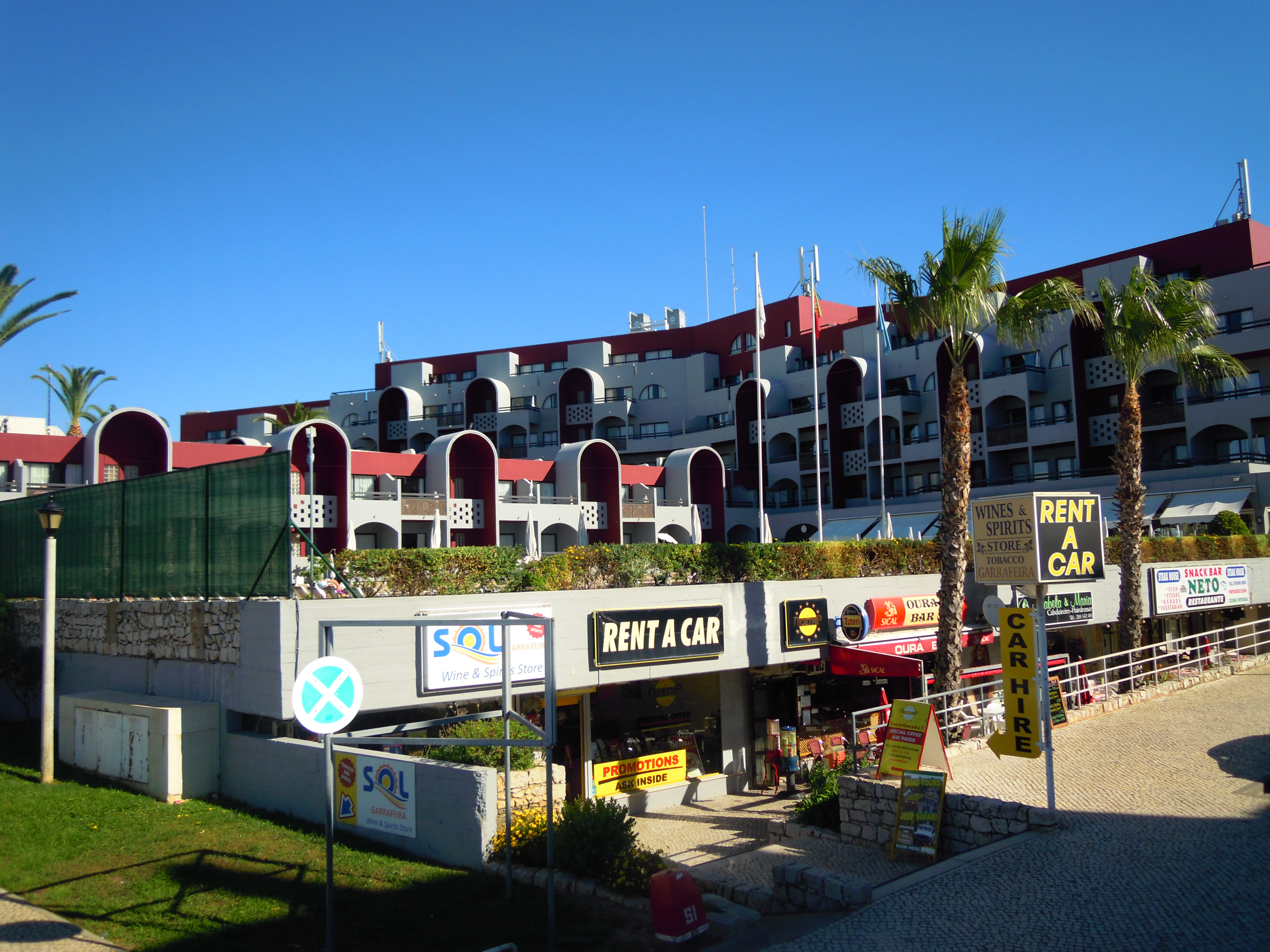 Portugal Albufeira Hotel Baia Grande