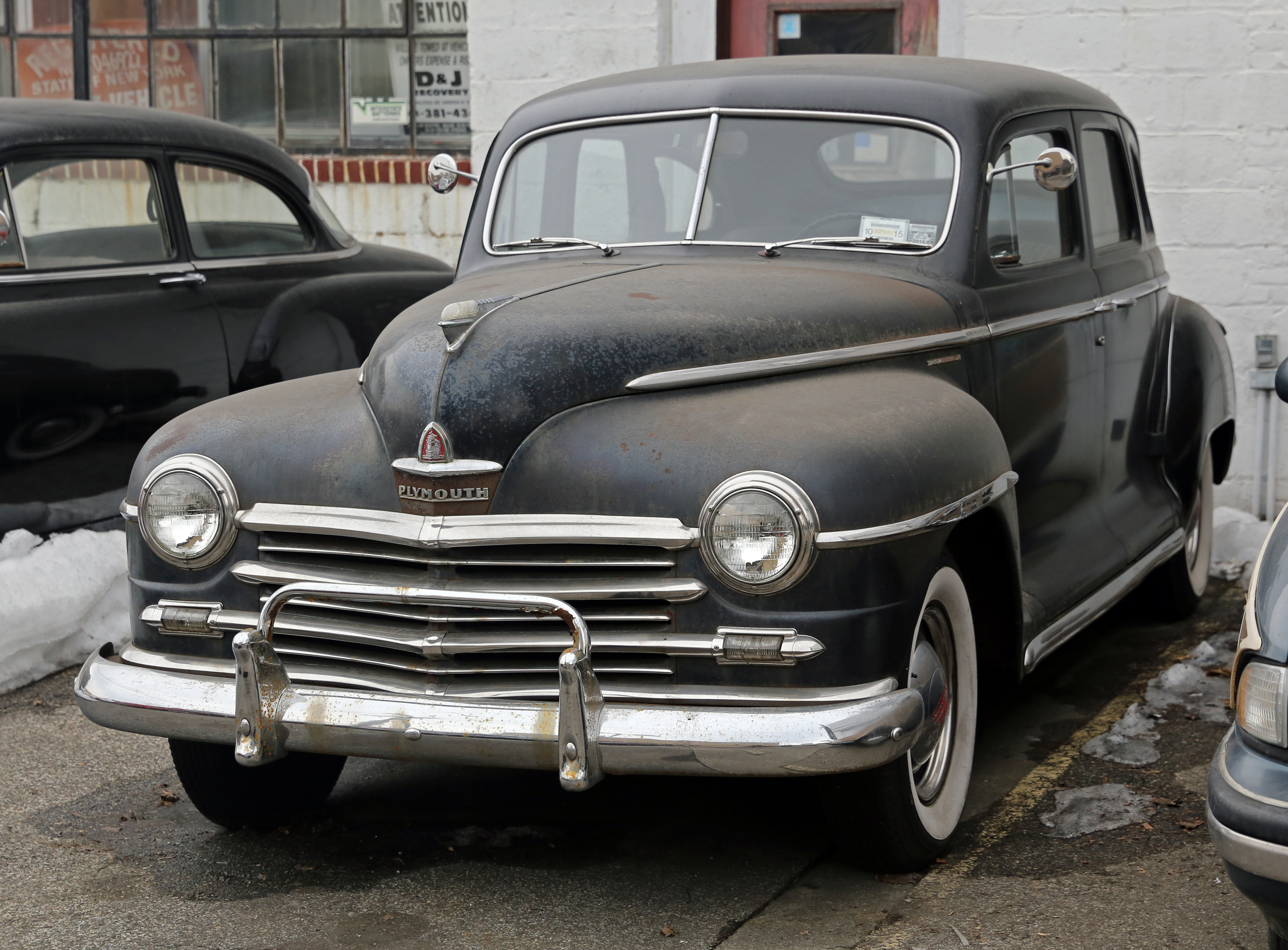 File 1948 plymouth special deluxe four door for 1946 plymouth special deluxe 4 door