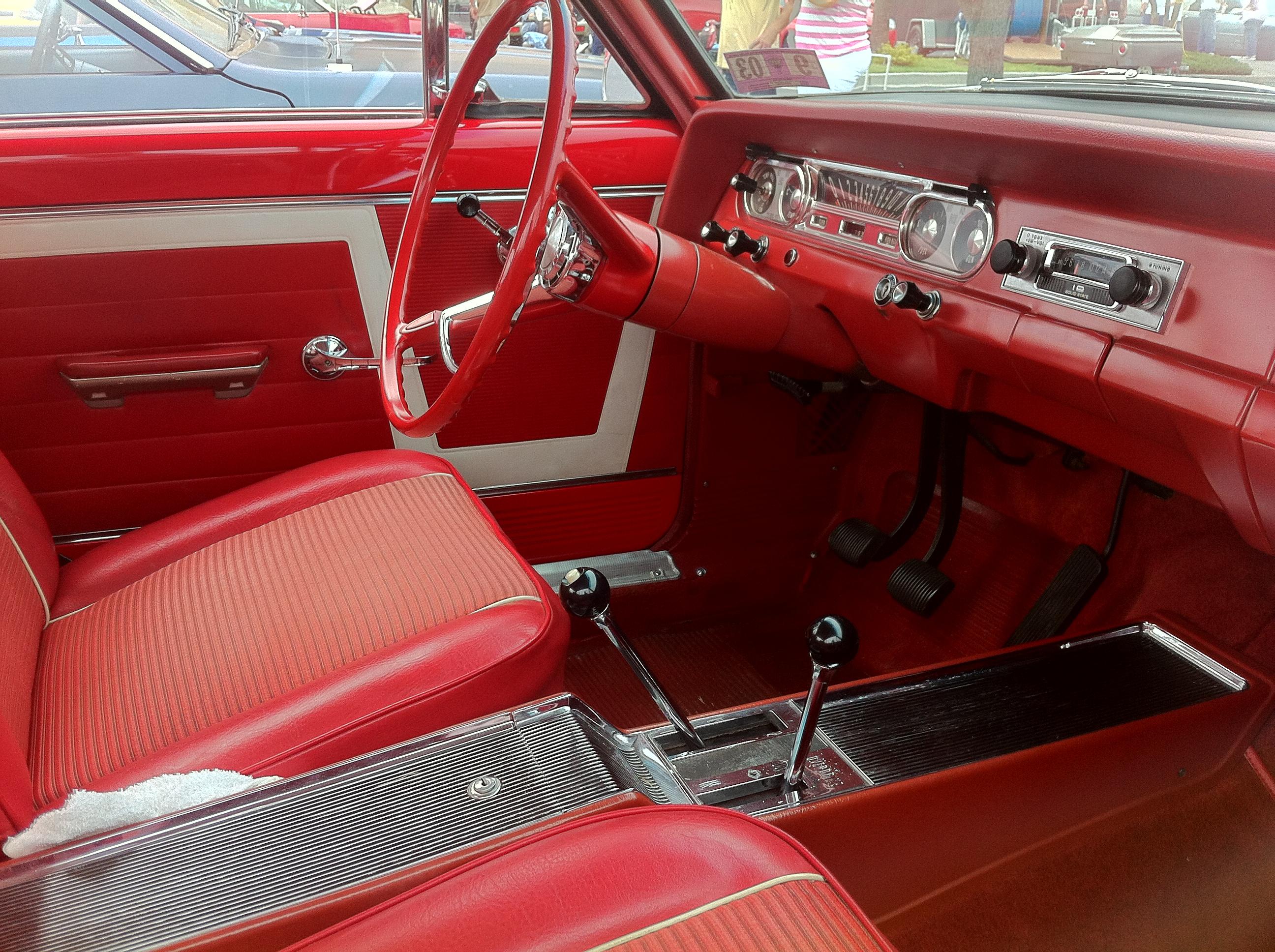 American Auto Parts >> File:1964 Rambler American 440-H hardtop 2014-AMO-NC-d.jpg ...