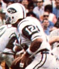 Namath running a play for the Jets in Super Bowl III