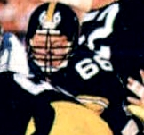 The Steelers owned one of the league's best offensive lines in 1979, led by Mike Webster (left) and included others such as Ted Petersen (right).