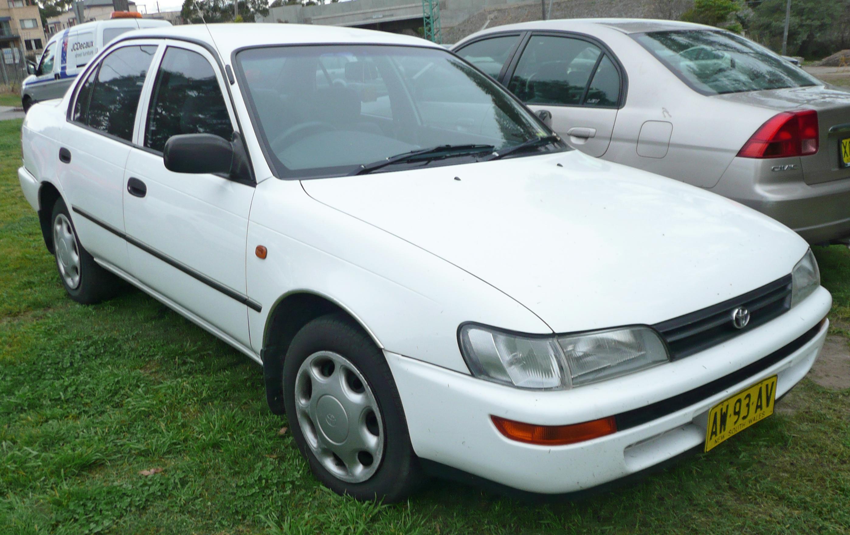 Тойота королла 1994 фото