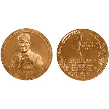 2002 General Henry H. Shelton Congressional Gold Medal.jpg