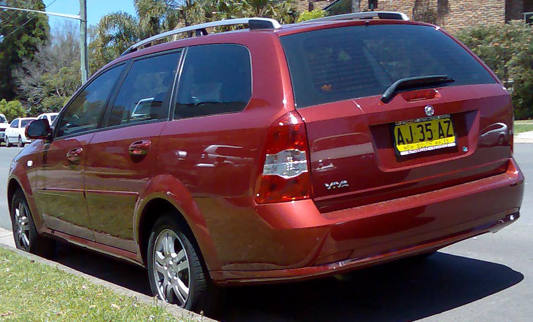 File20052007 Holden Viva JF station wagon 01jpg  Wikimedia