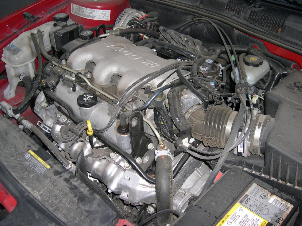 File 2005 Pontiac Grand Am 3400 engine on 2001 deville cooling system of