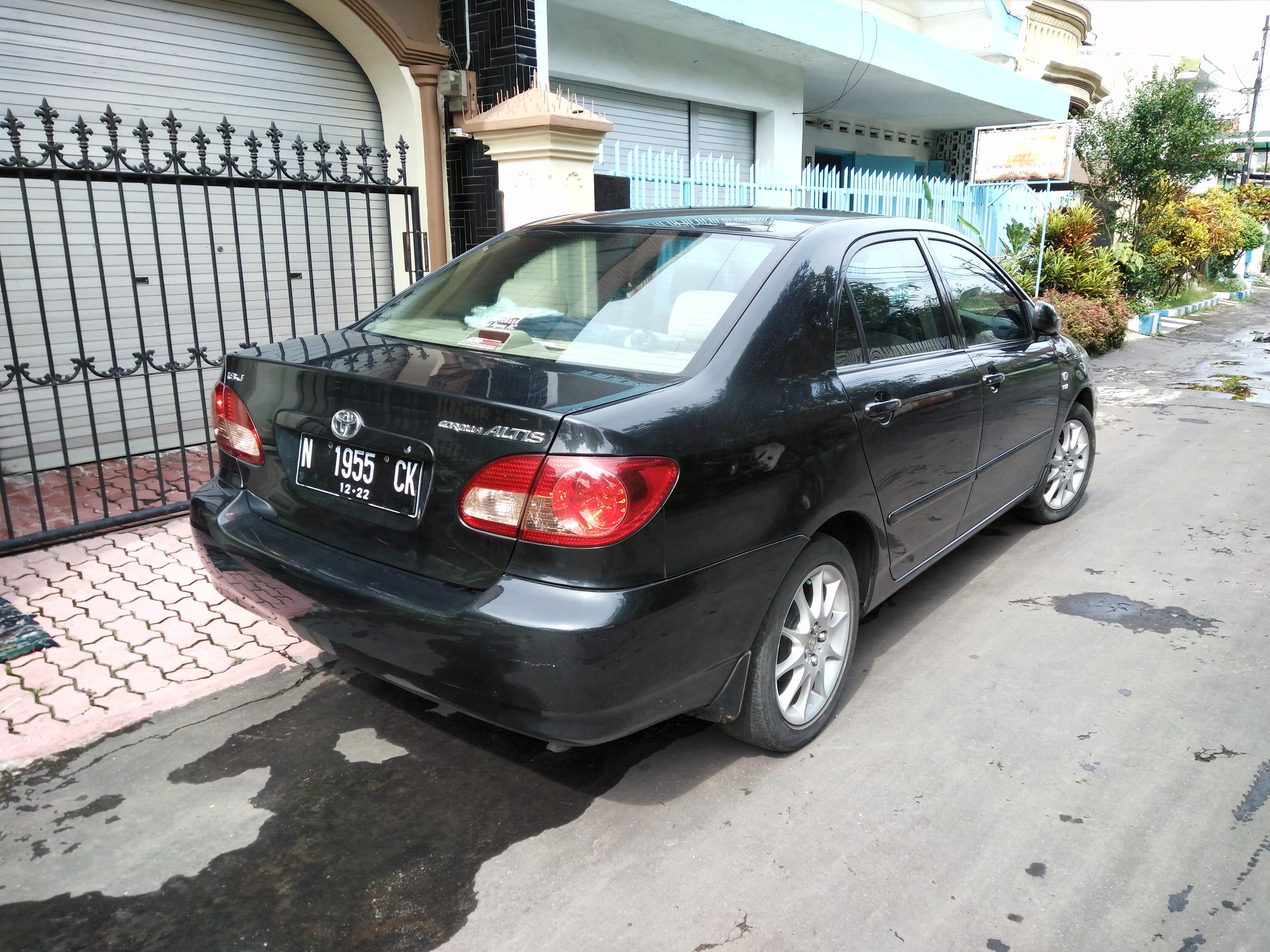 Kekurangan Toyota Altis 2005 Murah Berkualitas