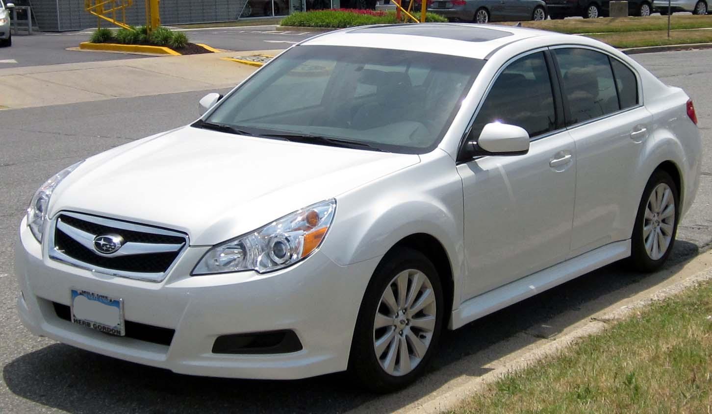 Description 2010-2012 Subaru Legacy sedan -- 07-11-2012.JPG