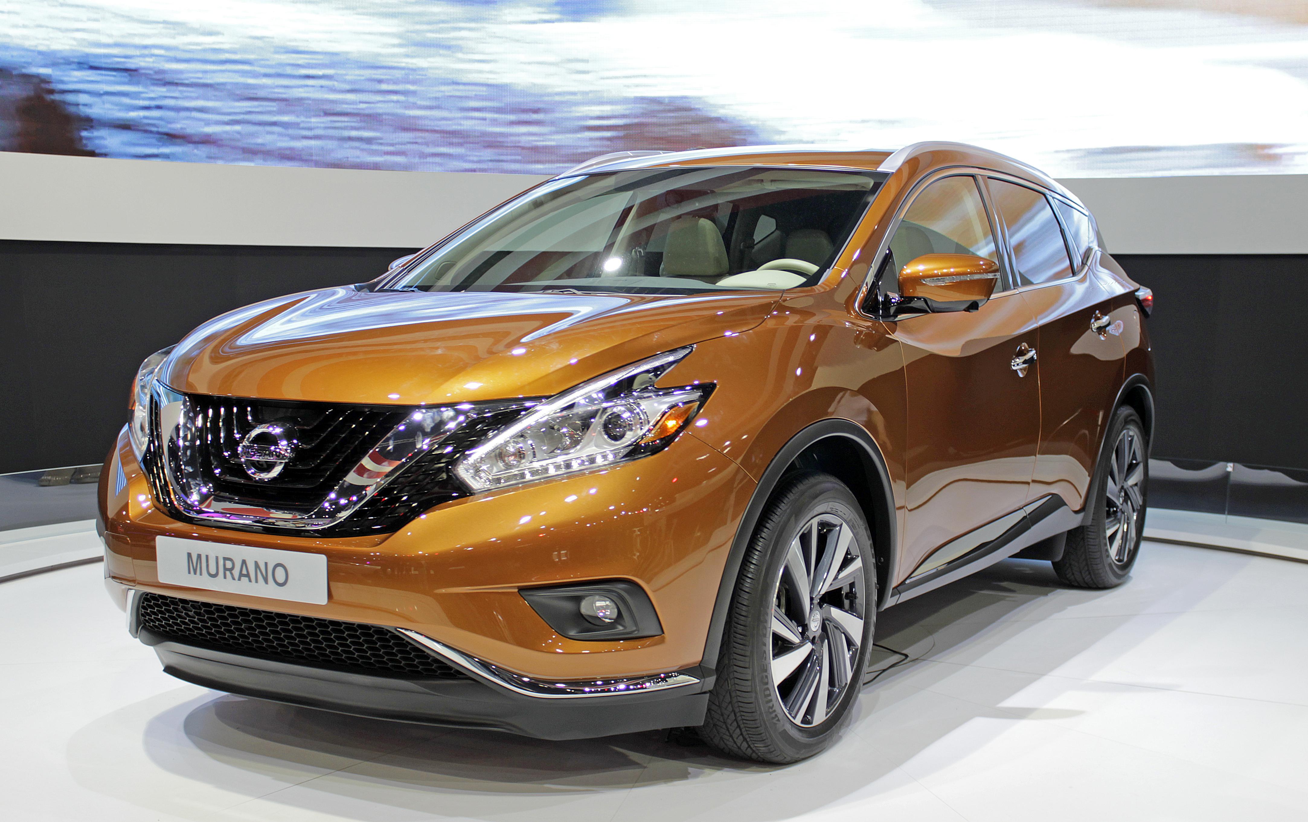 Nissan Murano 2018 >> File:2015 Nissan Murano.jpg - Wikimedia Commons