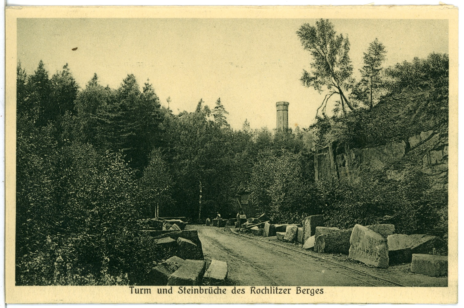File:23848 Rochlitz 1927 Steinbrüche Des Rochlitzer Berges Brück U0026 Sohn