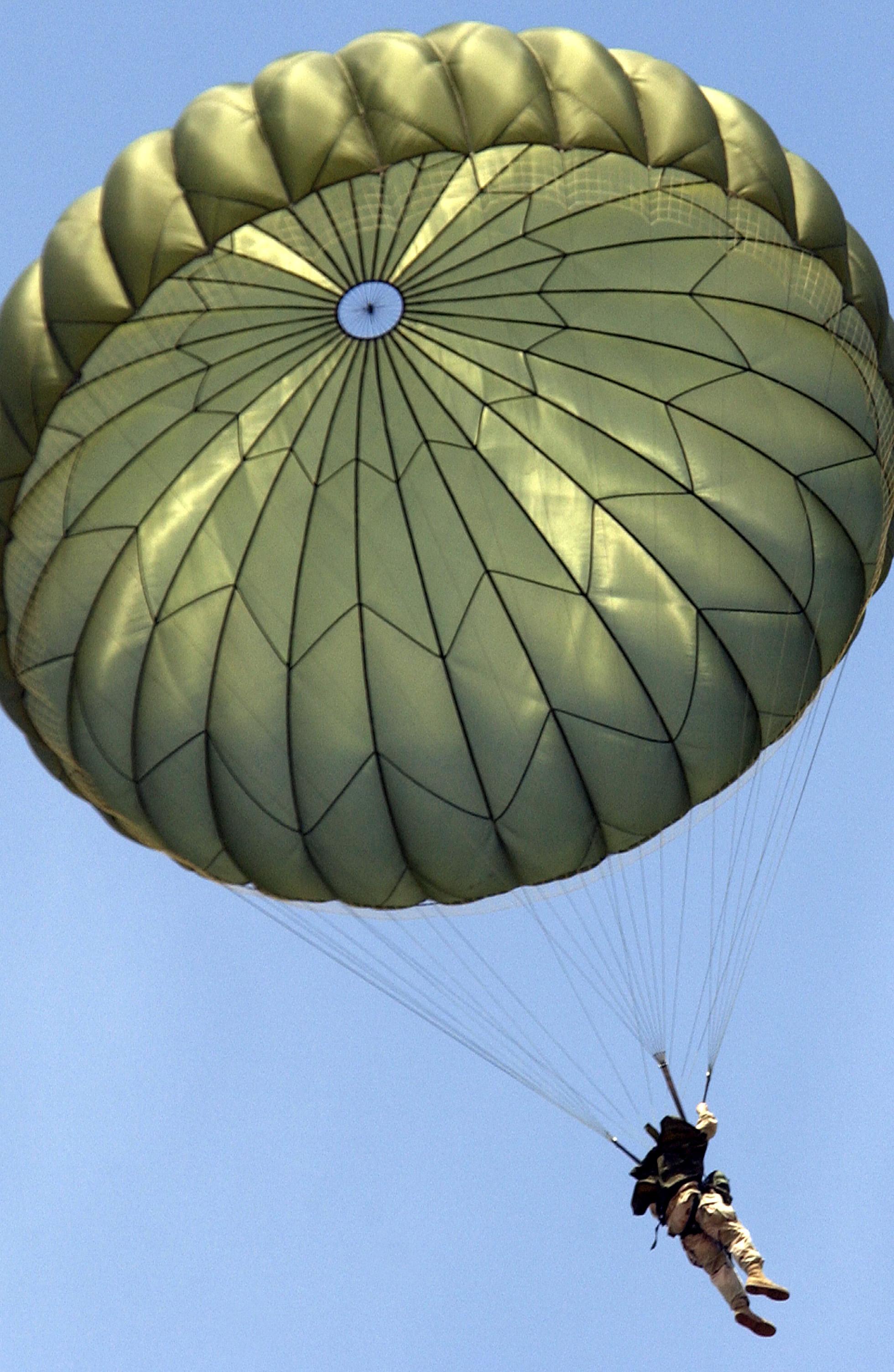 látás ejtőernyő