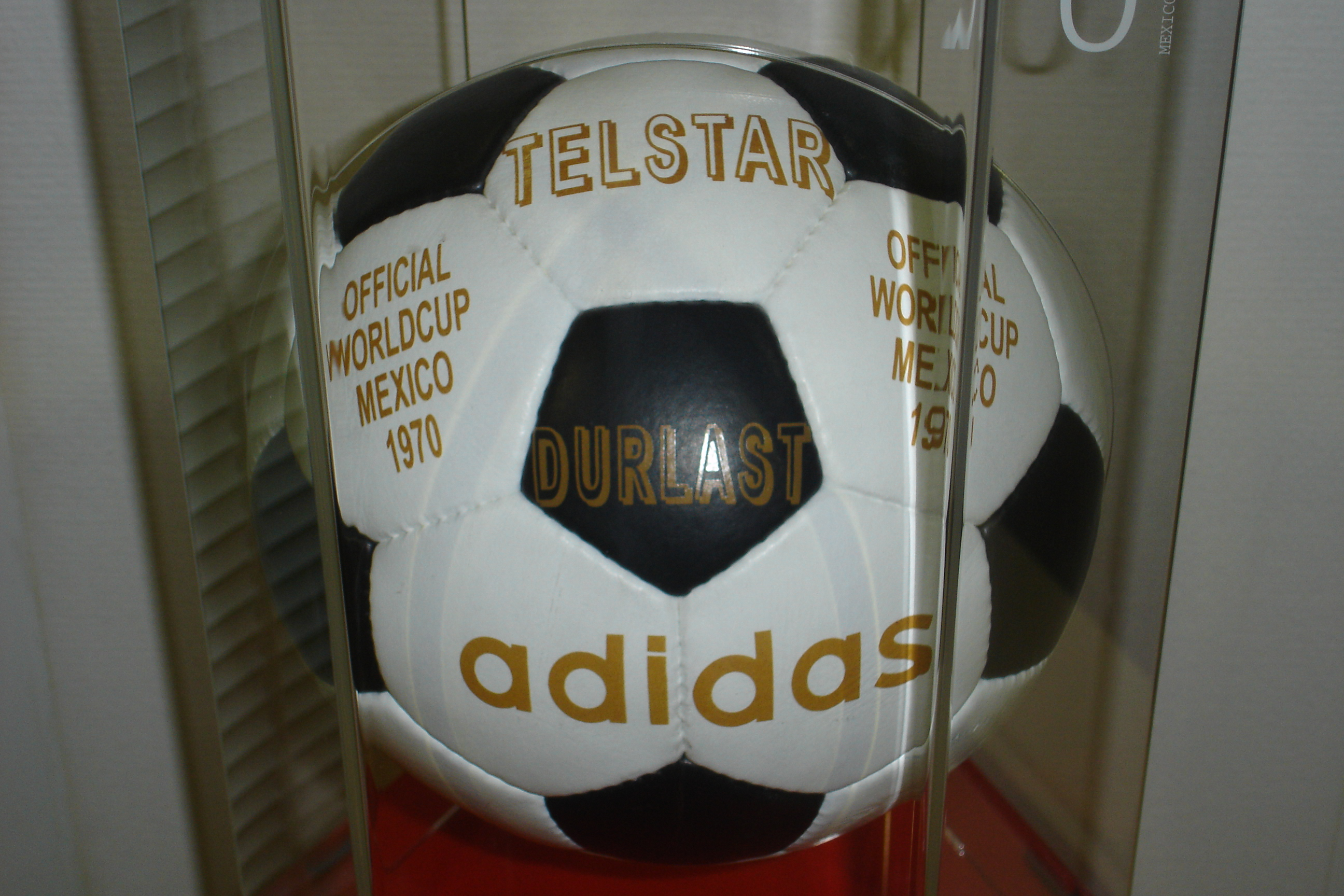reputable site a243c ae1a4 File Adidas Telstar Mexico 1970 Official ball.jpg