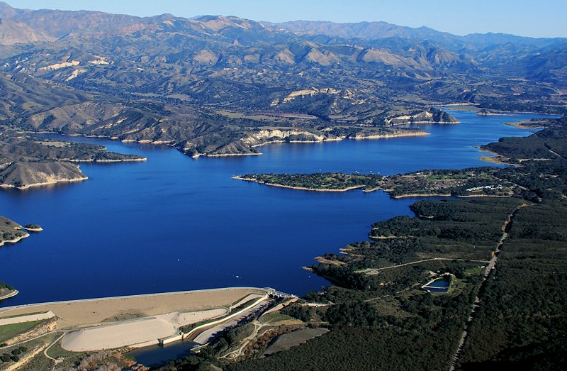 Fish California Lake Piru To Cachuma Lake Guide2travel Ca