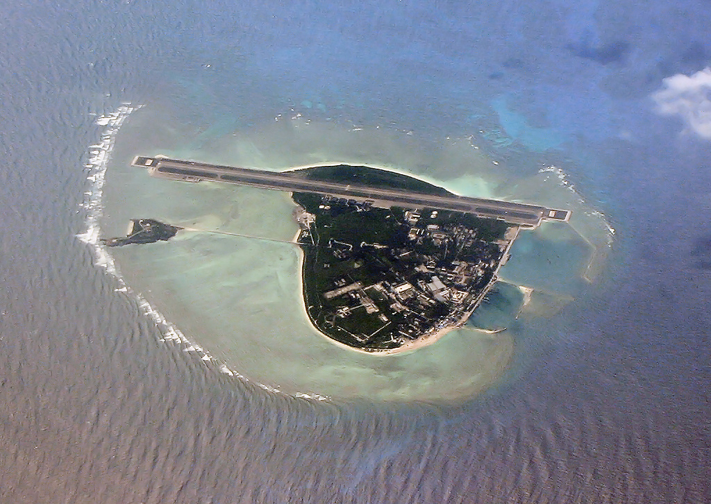 Aerial view of Woody Island