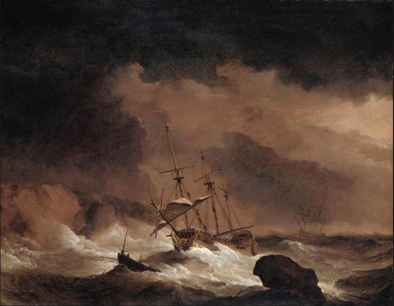 Depiction of John Byron